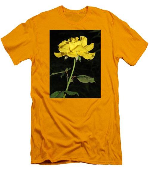 Rose 5 Men's T-Shirt (Slim Fit) by Phyllis Beiser