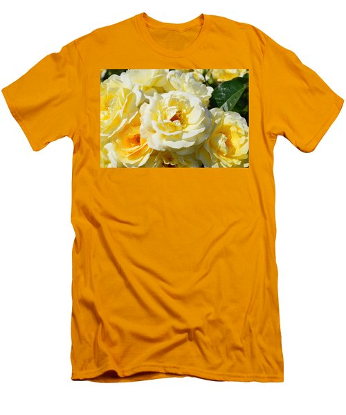 Rose Bush Men's T-Shirt (Athletic Fit)