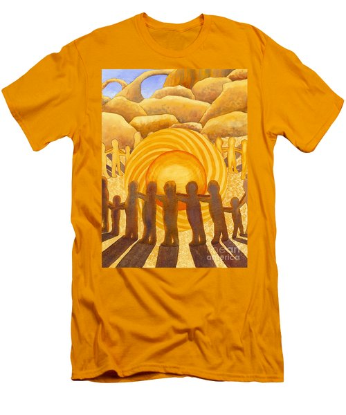 Sacral Chakra Men's T-Shirt (Athletic Fit)