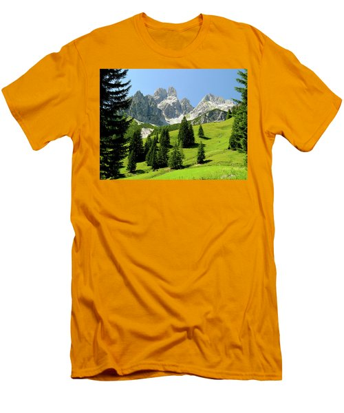Sacred Land Men's T-Shirt (Athletic Fit)