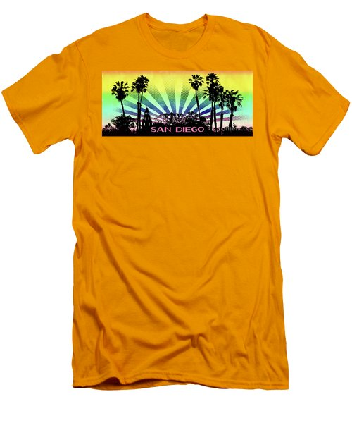 San Diego - Balboa Park Silhouette Men's T-Shirt (Athletic Fit)