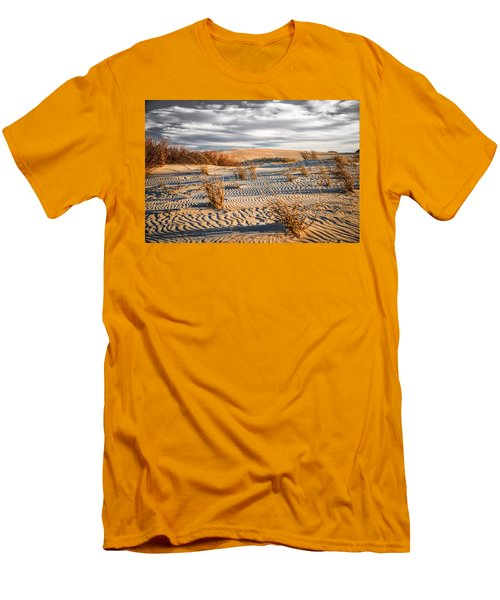 Sand Dune Wind Carvings Men's T-Shirt (Athletic Fit)