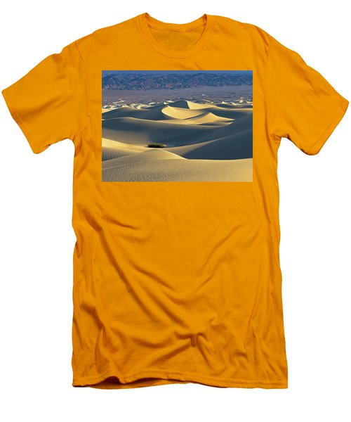 Sand Dunes Sunrise Men's T-Shirt (Athletic Fit)