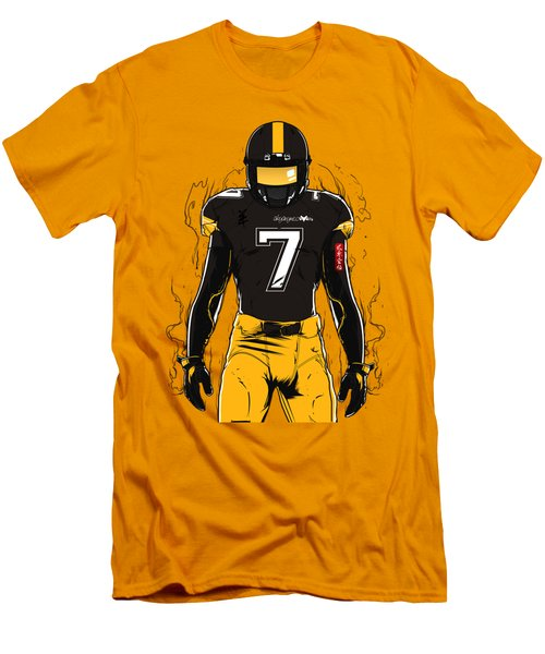 Sb L Pittsburgh Men's T-Shirt (Slim Fit) by Akyanyme
