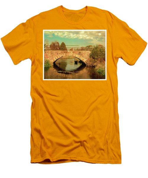 Scandinavia Stone Bridge 1 Men's T-Shirt (Athletic Fit)