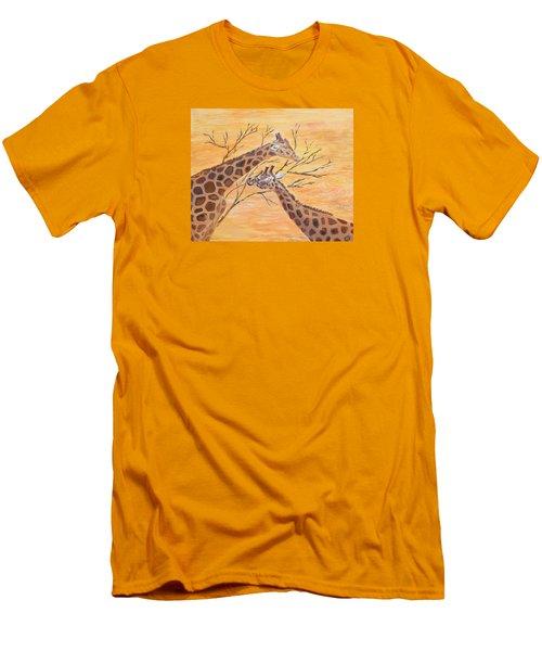 Sharing Men's T-Shirt (Slim Fit) by Elizabeth Lock