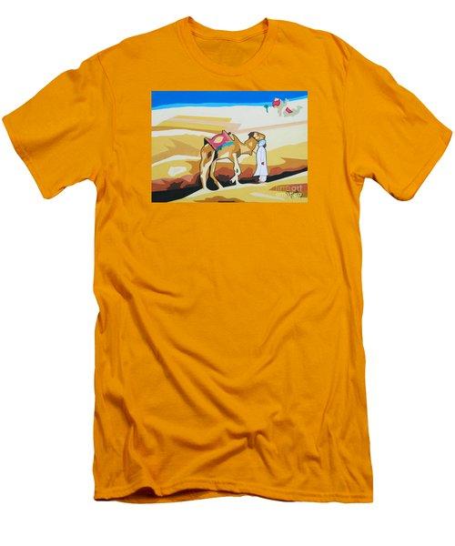 Sharing The Journey Men's T-Shirt (Slim Fit) by Ragunath Venkatraman