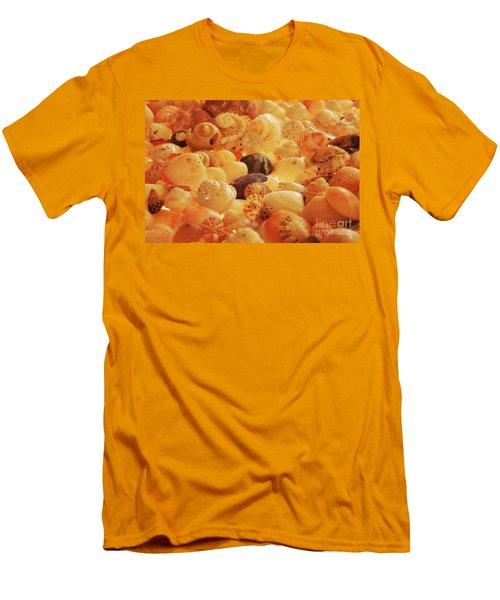Shells Xvii Men's T-Shirt (Slim Fit) by Cassandra Buckley