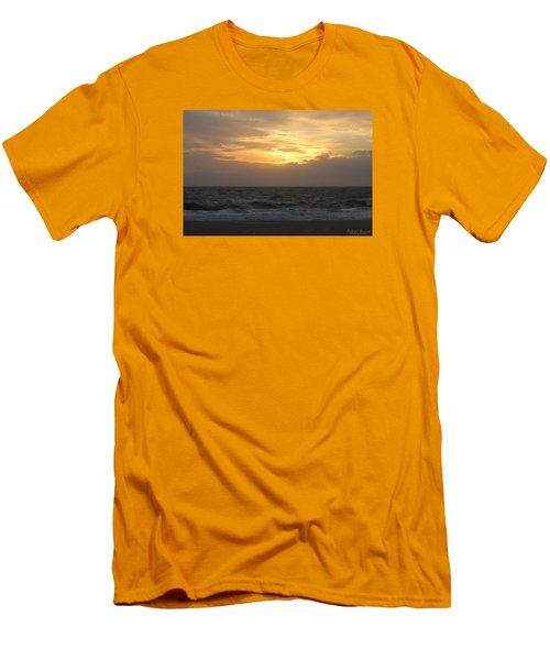 Men's T-Shirt (Slim Fit) featuring the photograph Shining Clouds by Robert Banach