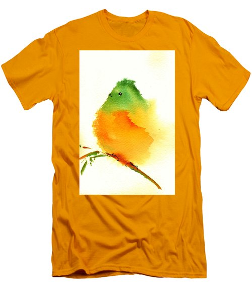 Silly Bird  #3 Men's T-Shirt (Athletic Fit)