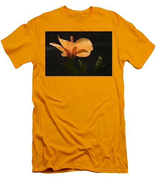Skc 9937 Grace Of Hibiscus Men's T-Shirt (Athletic Fit)