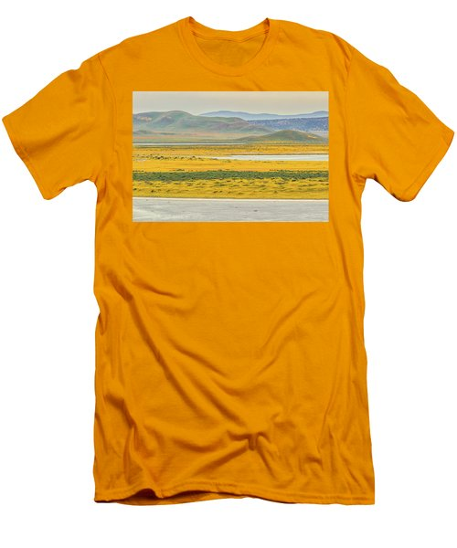 Men's T-Shirt (Slim Fit) featuring the photograph Soda Lake To Caliente Range by Marc Crumpler