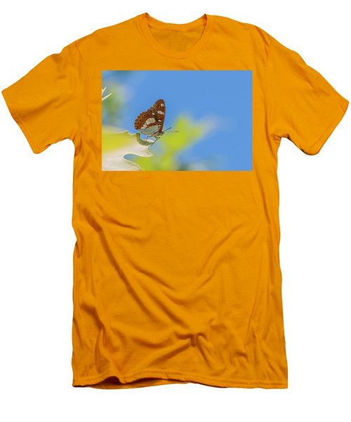 Southern White Admiral - Limenitis Reducta Men's T-Shirt (Athletic Fit)