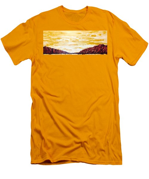 Southwestern Mountain Range Men's T-Shirt (Athletic Fit)