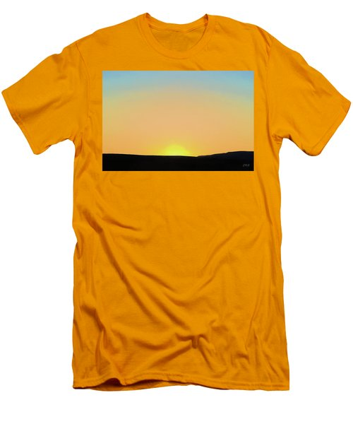Men's T-Shirt (Slim Fit) featuring the photograph Southwestern Sunset by David Gordon