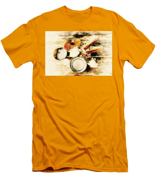 Spice Brown  Men's T-Shirt (Athletic Fit)