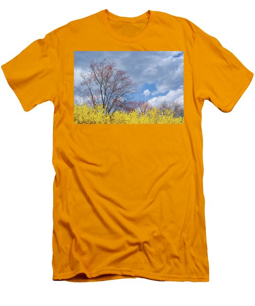 Men's T-Shirt (Slim Fit) featuring the photograph Spring 2017 by Bill Wakeley