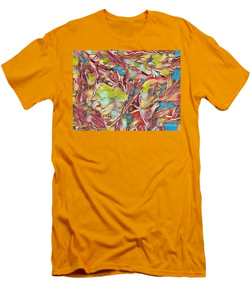 Men's T-Shirt (Slim Fit) featuring the photograph Spring Breaks Forth by Kathie Chicoine