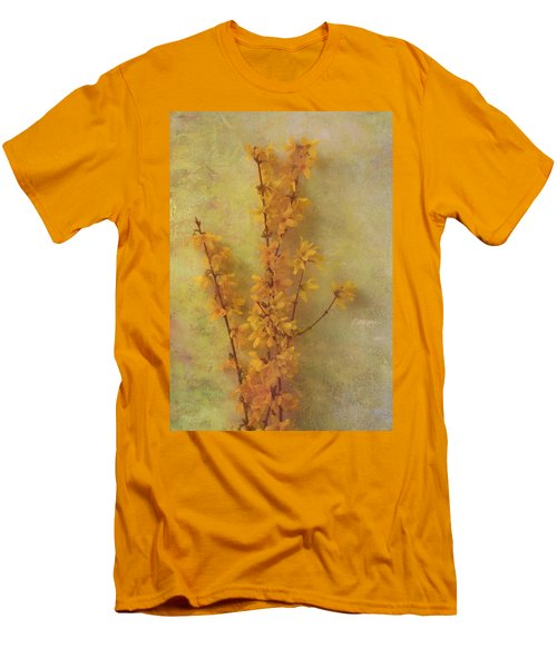 Spring Forsythia Men's T-Shirt (Athletic Fit)
