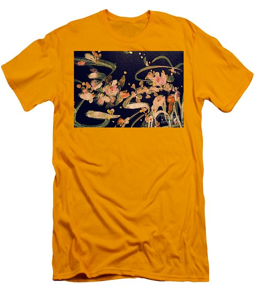Spring Song Men's T-Shirt (Slim Fit) by Nancy Kane Chapman