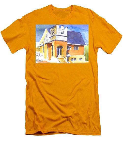 St. Paul Lutheran 3 Impressions Men's T-Shirt (Slim Fit) by Kip DeVore