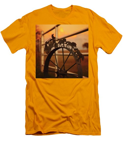 Stagecoach Sunset Men's T-Shirt (Athletic Fit)