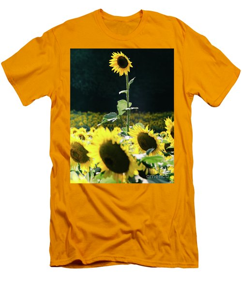 Men's T-Shirt (Athletic Fit) featuring the photograph Stand Out 2 by Andrea Anderegg