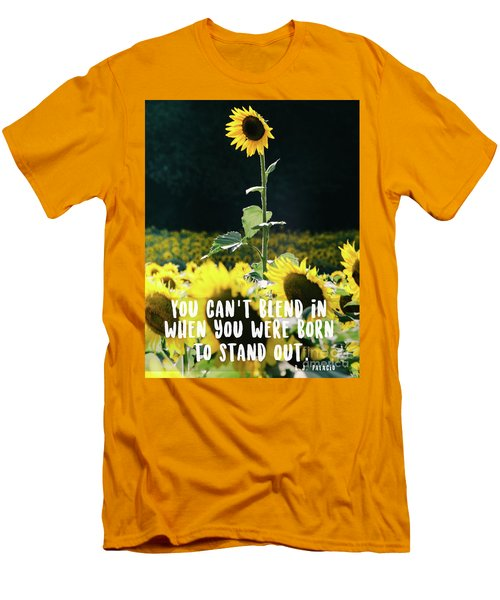 Men's T-Shirt (Athletic Fit) featuring the photograph Stand Out by Andrea Anderegg