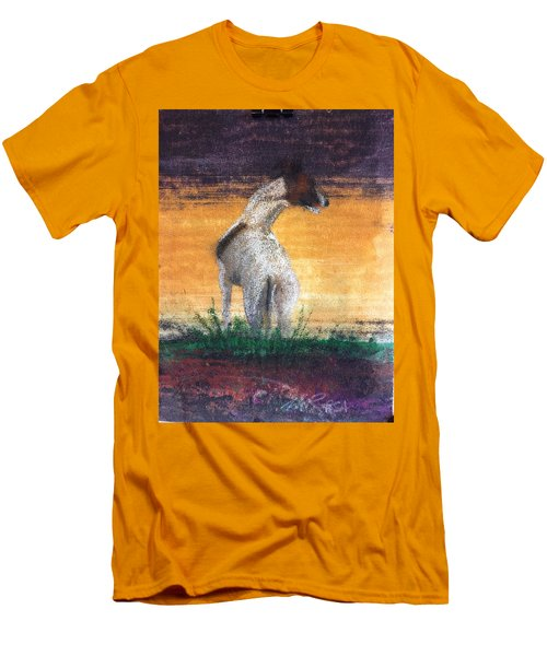 Men's T-Shirt (Slim Fit) featuring the painting Standing Tall by William Renzulli