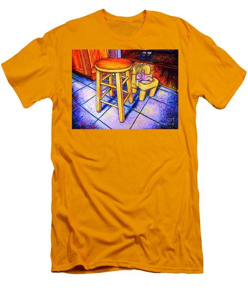 Stool Men's T-Shirt (Slim Fit) by Viktor Lazarev