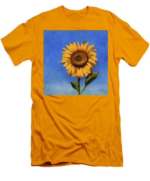 Men's T-Shirt (Slim Fit) featuring the painting Summer Fun by Billie Colson