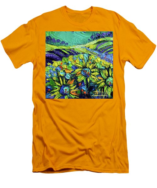 Summer In Provence Men's T-Shirt (Athletic Fit)