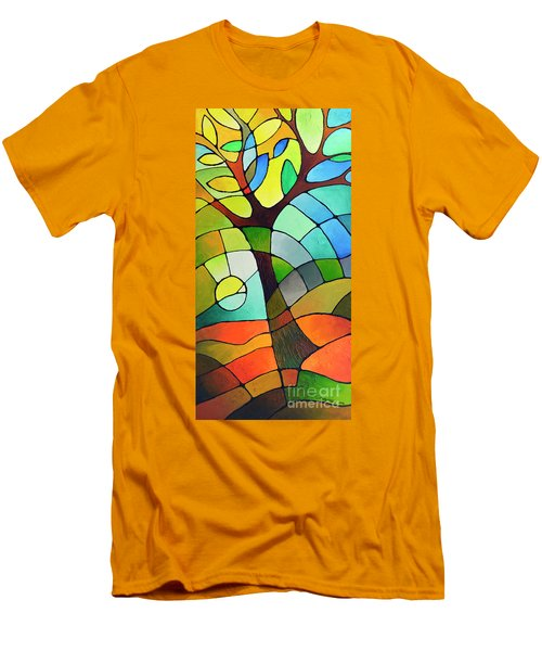 Summer Tree Men's T-Shirt (Athletic Fit)