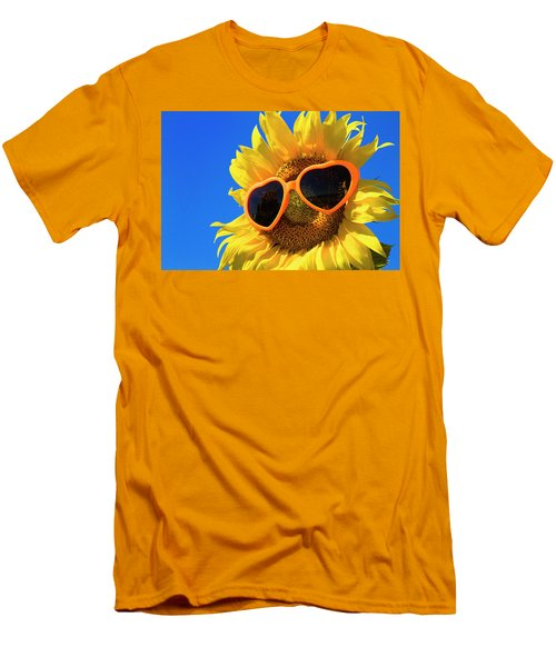 Summertime Men's T-Shirt (Slim Fit) by Teri Virbickis