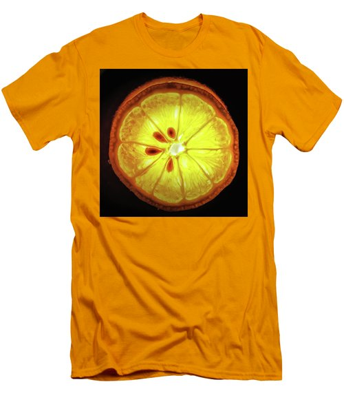 Sun Lemon Men's T-Shirt (Athletic Fit)