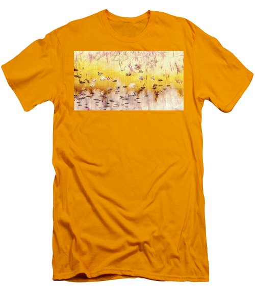 Men's T-Shirt (Slim Fit) featuring the photograph Sun Shower by William Wyckoff
