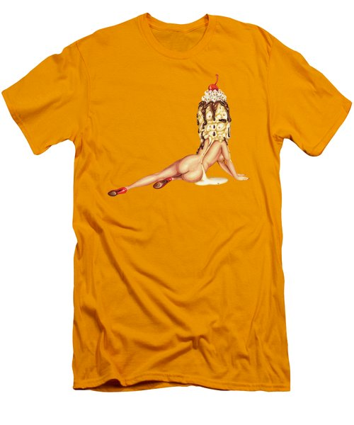 Sundae Best Men's T-Shirt (Slim Fit) by Kelly Gilleran
