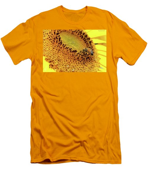 Sunflower 001 Men's T-Shirt (Slim Fit) by Kevin Chippindall