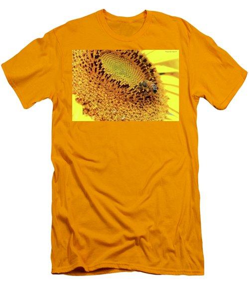 Sunflower 001 Men's T-Shirt (Athletic Fit)