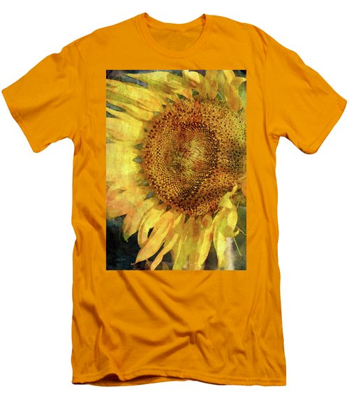 Sunflower 2254 Idp_2 Men's T-Shirt (Athletic Fit)