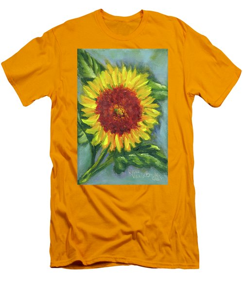 Sunflower Seed Packet Men's T-Shirt (Athletic Fit)