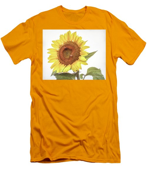 Men's T-Shirt (Athletic Fit) featuring the photograph Sunflowers 10 by Andrea Anderegg