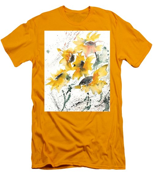 Sunflowers 10 Men's T-Shirt (Athletic Fit)