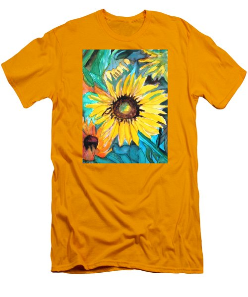 Sunflowers 7 Men's T-Shirt (Athletic Fit)