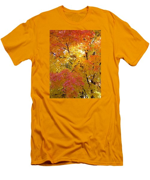 Men's T-Shirt (Slim Fit) featuring the photograph Sunkissed 2 by Elizabeth Sullivan