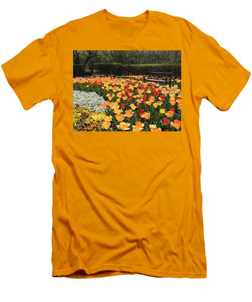 Men's T-Shirt (Slim Fit) featuring the photograph Sunny Days by Teresa Schomig