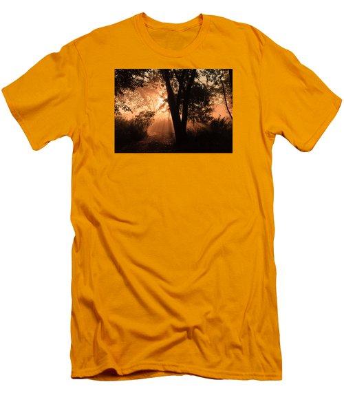 Sunrise In The Marsh 3 Men's T-Shirt (Athletic Fit)