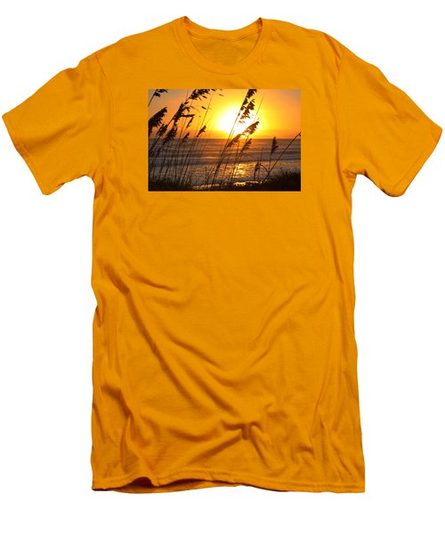 Sunrise Silhouette Men's T-Shirt (Slim Fit) by Robert Och
