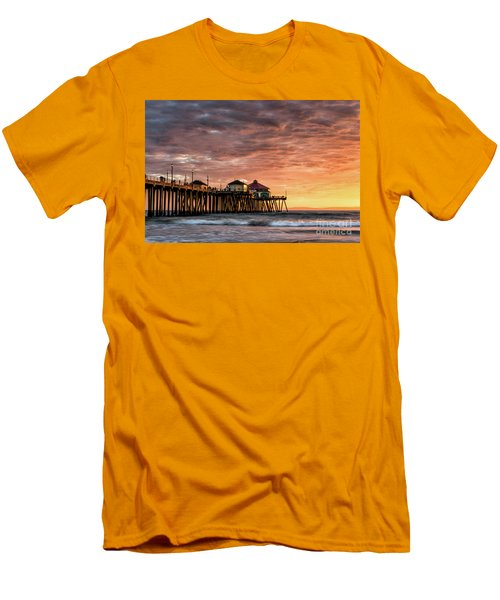 Sunset At Ruby's Men's T-Shirt (Athletic Fit)