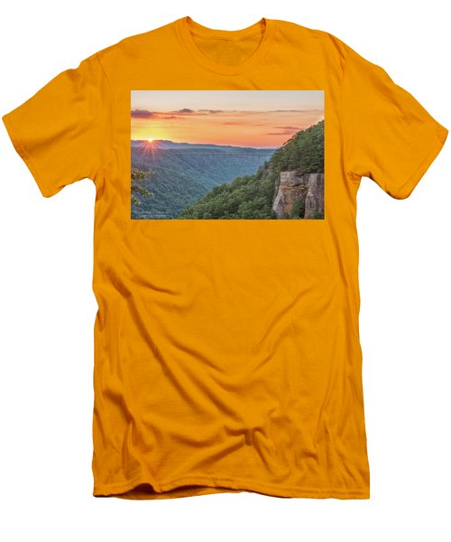 Sunset Flare Men's T-Shirt (Athletic Fit)